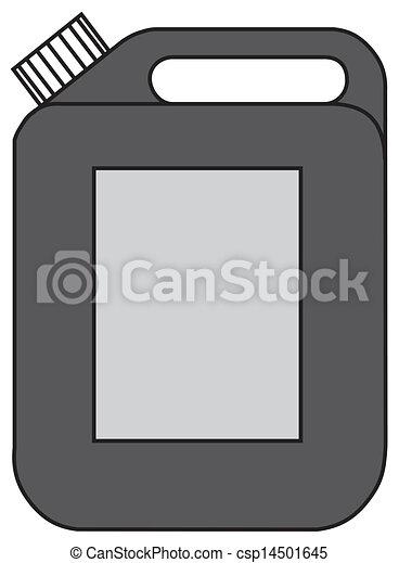 Gasoline jerrican  - csp14501645