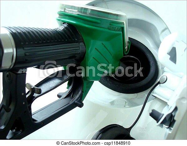 Gasoline refill - csp11848910