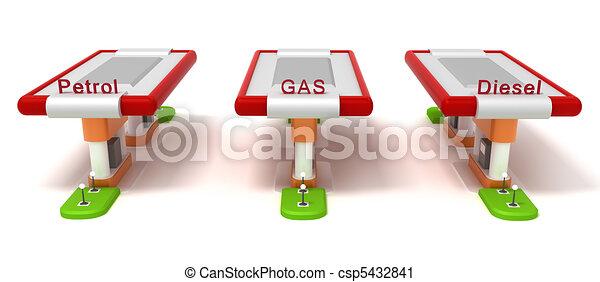 Gasoline Stations - csp5432841