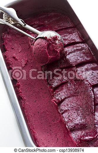 Gelato de gourmet - csp13938974