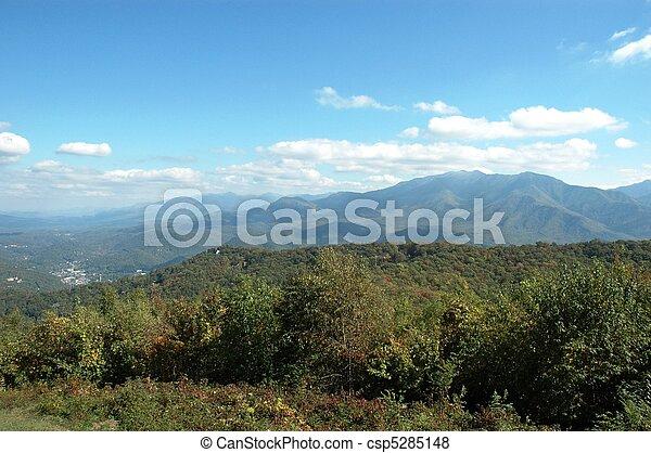 Gatlinburg Mountains - csp5285148