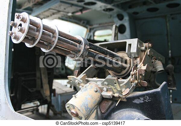 Gatling Gun - csp5139417