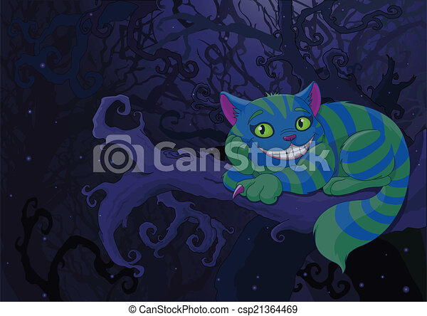 Gato de Cheshire - csp21364469