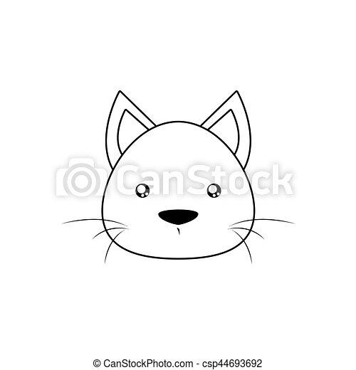 gato desenho rosto fundo face abstrata animal forre desenho