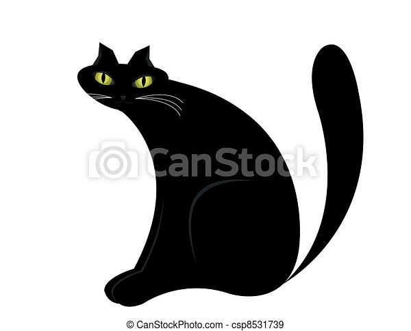 gato preto - csp8531739