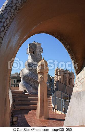 Gaudi Casa Barcelona Mila