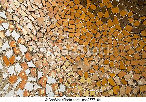 Gaudi Mosaic - csp0877104