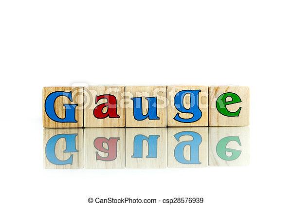 gauge - csp28576939