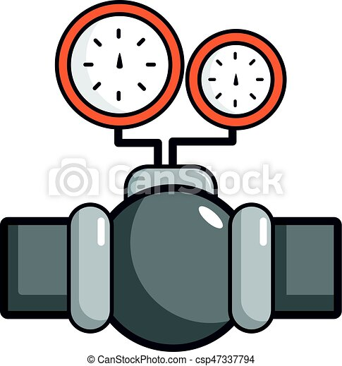 gauges on pipeline icon cartoon style gauges on pipeline eps rh canstockphoto com pipeline clipart free clipart pipeline construction