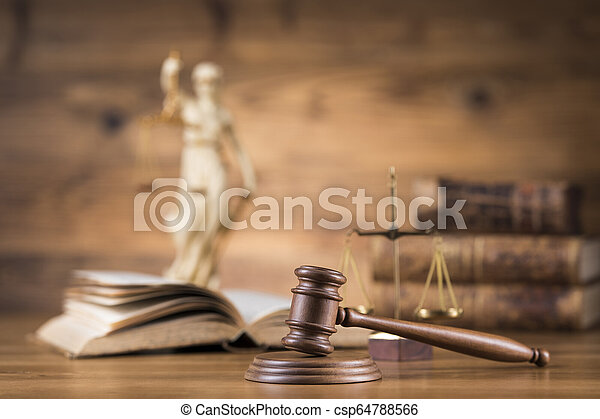 Gavel,Law theme, mallet of judge concept - csp64788566