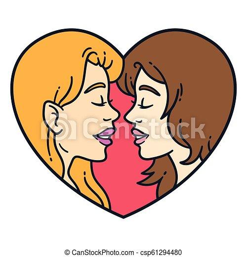 Lesbian love graphics