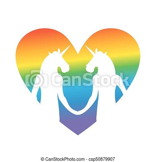 Bisexual gay vector clipart