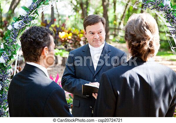 Gay Marriage Ceremony - csp20724721