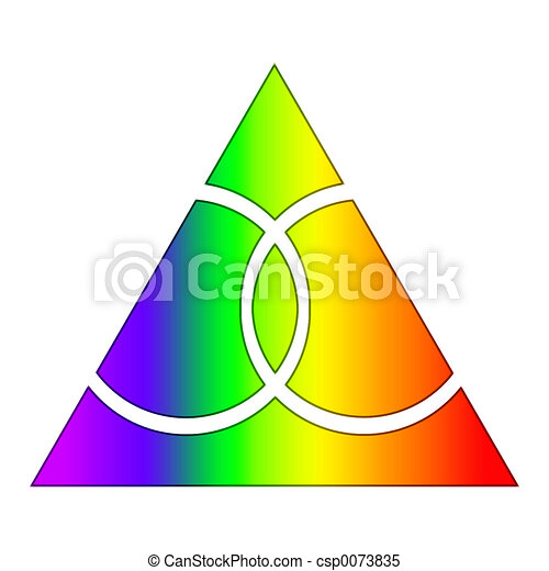 Speaking, would gay rainbow triangle symbol are not
