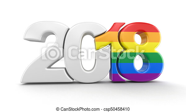 Gay pride color new year 2018 image - New year 2019 color ...