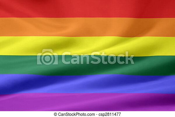 Gay Pride Flag - csp2811477