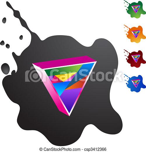 Gay Triangle - csp3412366