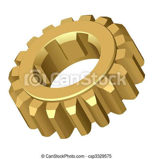 gear. - csp3329575