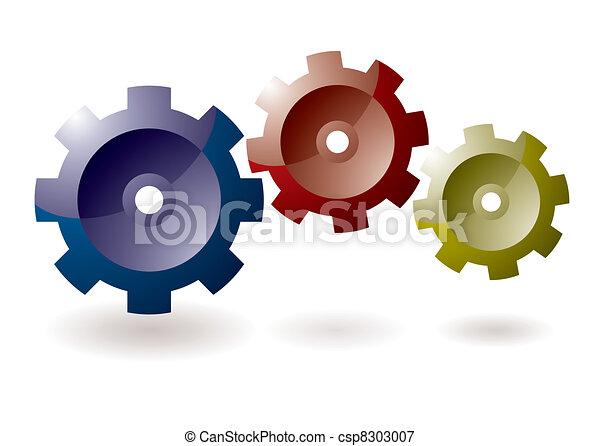 Gear cog icon - csp8303007