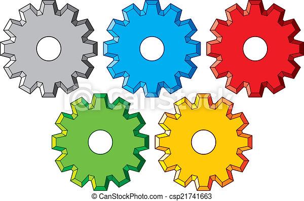 gear collection machine gear - csp21741663