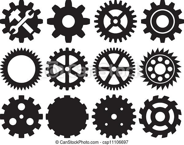 gear collection machine gear  - csp11106697
