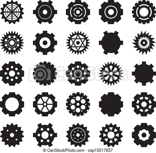 Gear Vector set - csp15517637