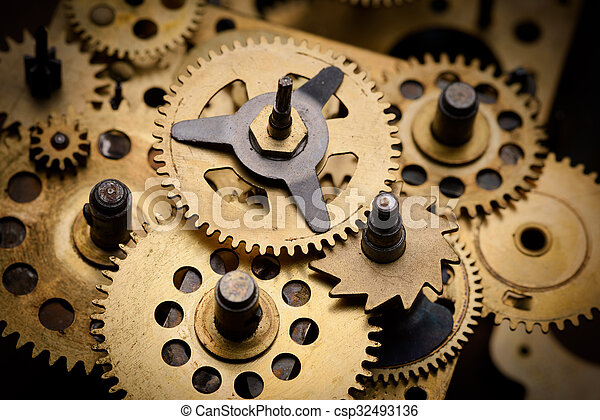 Gears and cogs - csp32493136