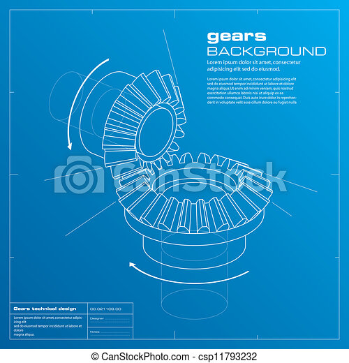 Gears blueprint background vector gears blueprint vector gears blueprint background vector malvernweather Image collections