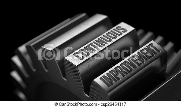gears., contínuo, metal, melhoria - csp26454117