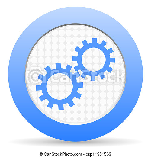 gears icon - csp11381563