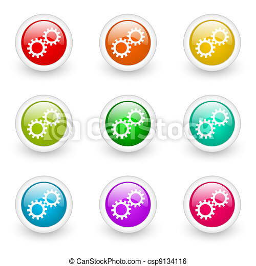 gears icon - csp9134116