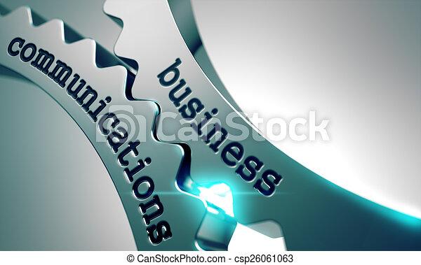 gears., kommunikation, metall, geschaeftswelt - csp26061063