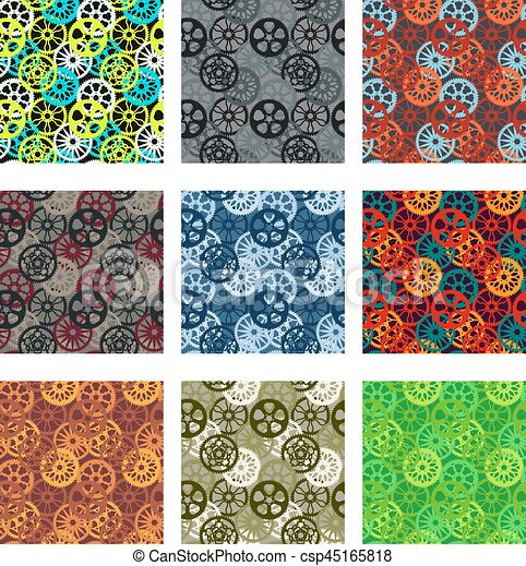 Gears pattern pack - csp45165818
