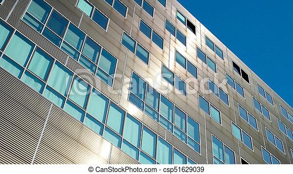 Fassade Architektur gebäude buero modern architektur außen fassade stockfotos