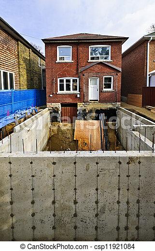 Bauzusatz zu Hause - csp11921084