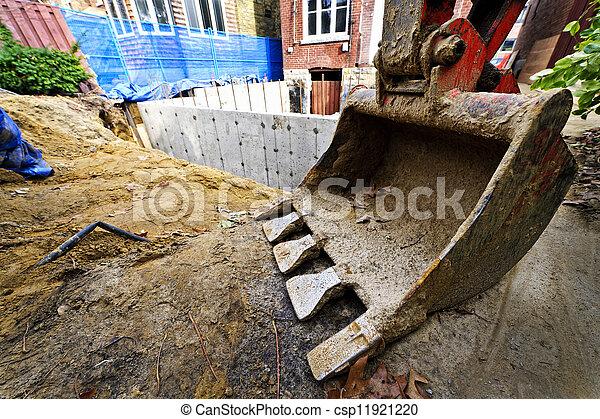 Bauaufbau nach Hause - csp11921220