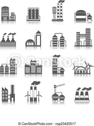 gebäude, industrie, heiligenbilder - csp23420017
