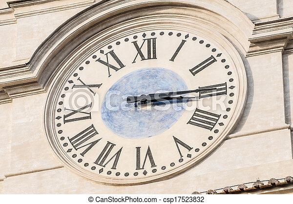 gebäude, rom, parlament, italien, italienesche - csp17523832