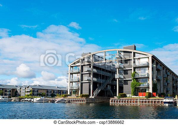 Wohnung Kopenhagen gebäude wohnung kopenhagen modern dänemark stockbild suche