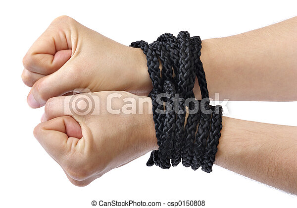 gebonden, handen - csp0150808