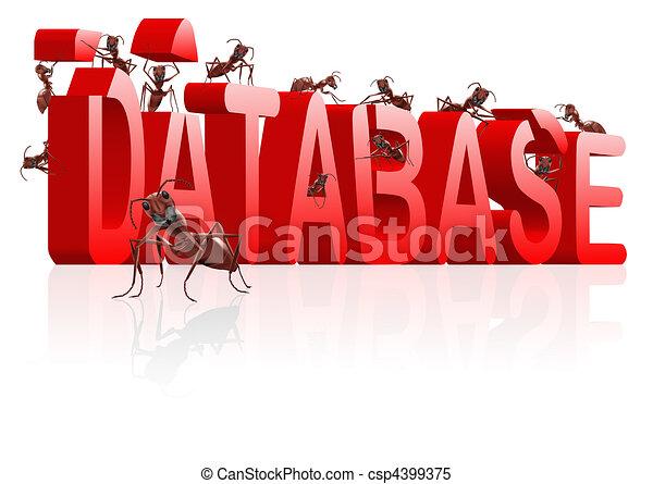 gebouw, databank - csp4399375