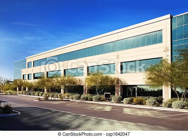 gebouw, moderne, commercieel - csp1642047