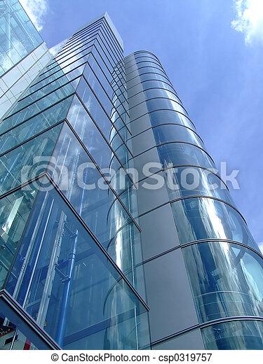 gebouw, stad, kantoor - csp0319757