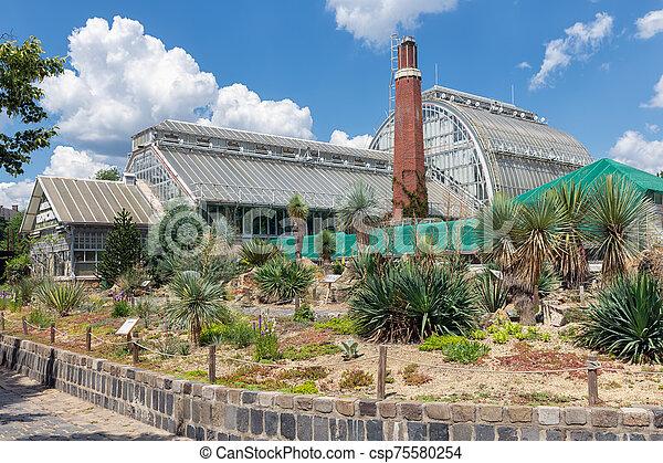 gebouw, tropicana, boedapest, dierentuin, hongarije, amerika - csp75580254