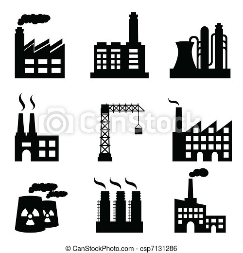 gebouwen, industriebedrijven - csp7131286