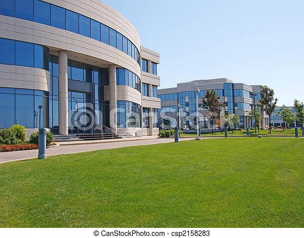 gebouwen, kantoor - csp2158283