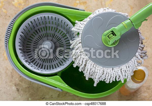 Fußboden Günstig Gebraucht ~ Gebraucht stiel flüssiglkeit boden wischen eimer nächste grün