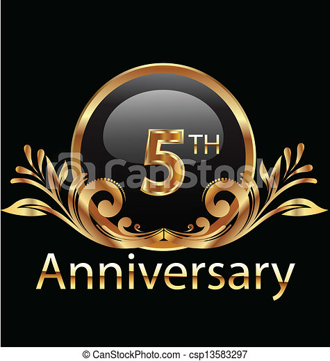 5 Jahre Geburtstag - csp13583297