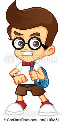 geek, nerd - csp24156484