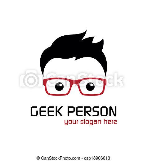 geek, person. - csp18906613